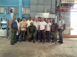 After sales installation machinery