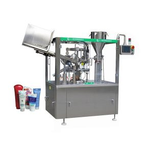 Automatic soft skin ointment tube filling and sealing machine