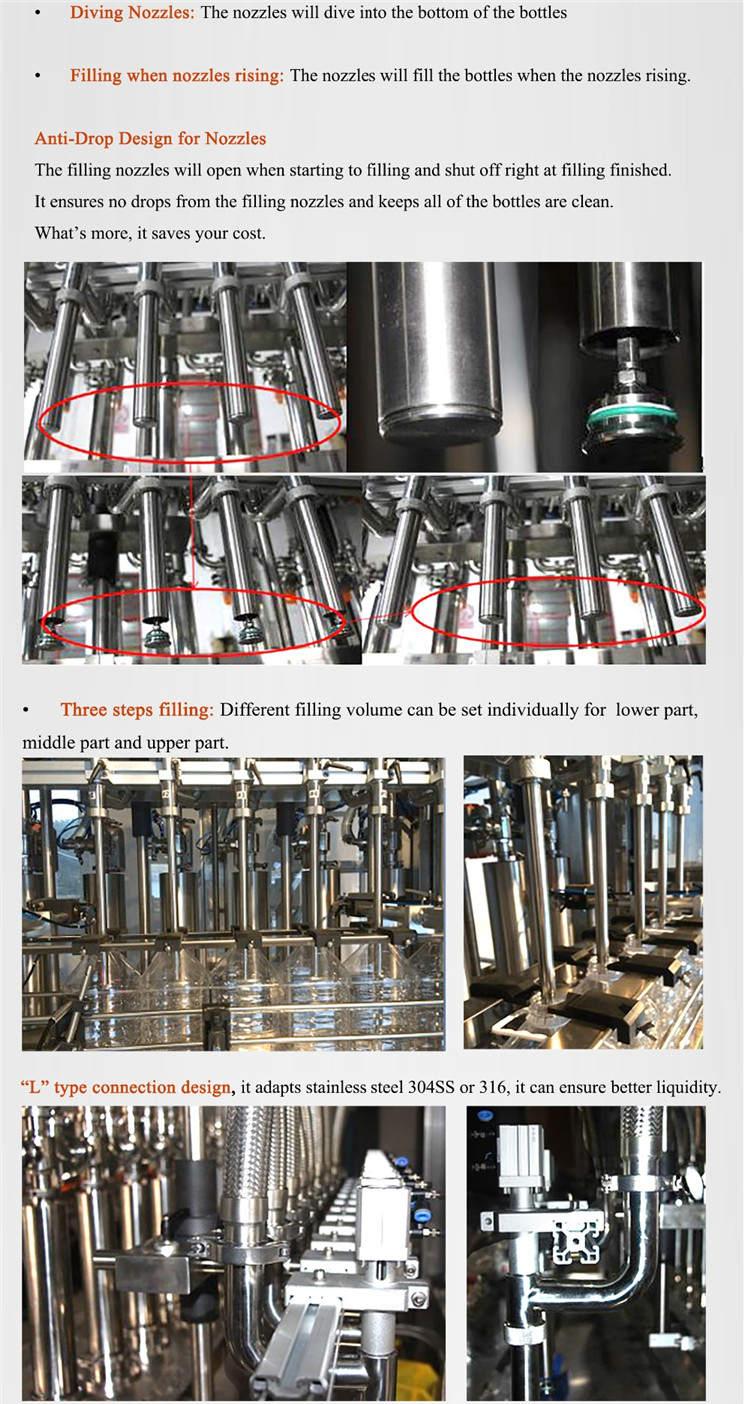 Automatic Servo Motor Bottle Filling Machine 4