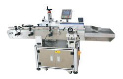 flat top side self adhesive labeling machine