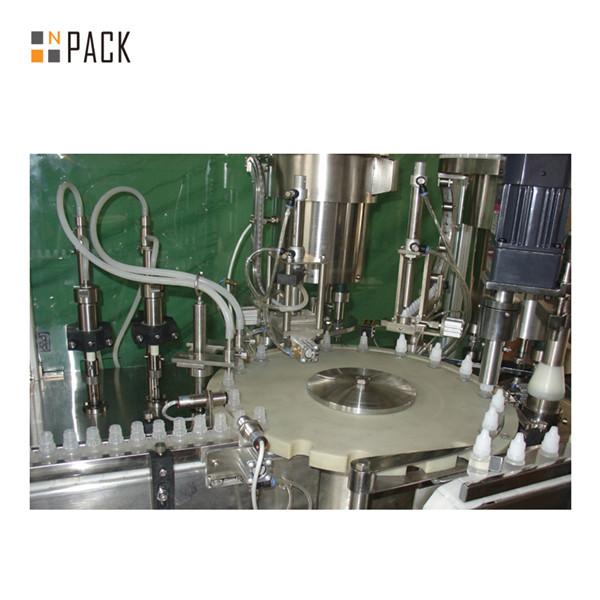 40-1000ml fully automatic digital control e liquid filling machine