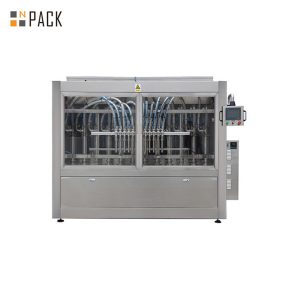 Complete automatic bottled shampoo filling machine