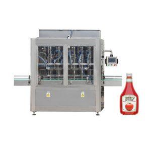 Paste filling machine for tomato paste, cosmetic cream