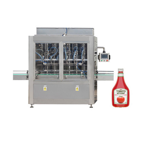 Paste filling machine for tomato paste, cosmetic cream