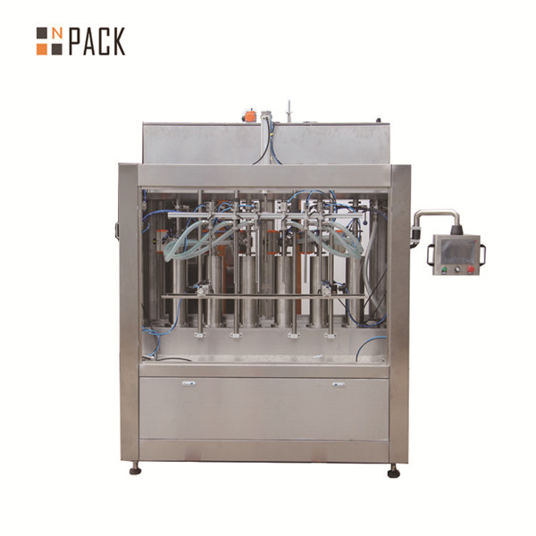 Volumetric tomato sauce automatic liquid filling machine