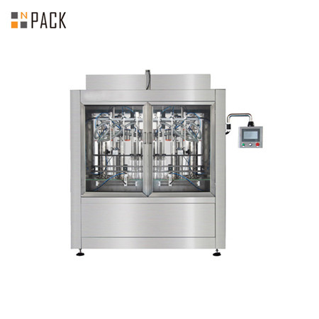 High capacity capsicum sauce linear liquid filling machine