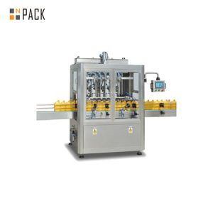Automatic paste filling machine for cooking oil, sauce