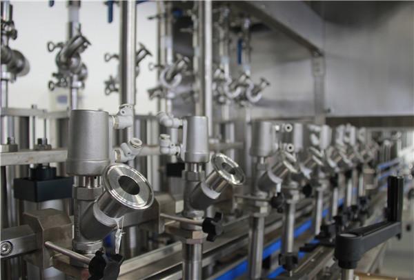 High performance edible bottle oil filling machine