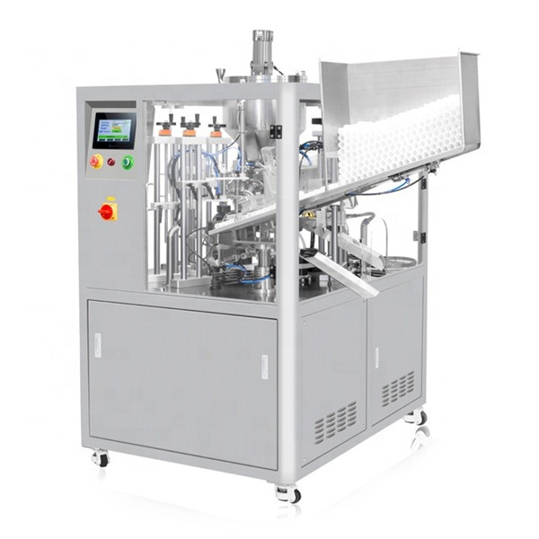 Ultrasonic Sealing Cosmetic Tube Filling Machine