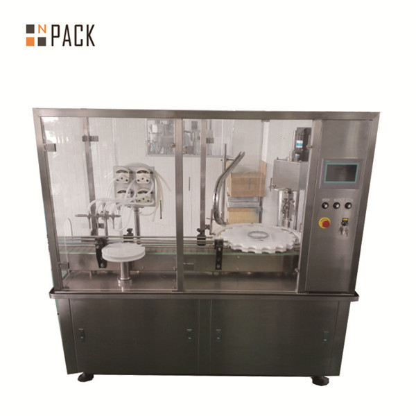 40-1000ml fully automatic digital control e liquid filling machine