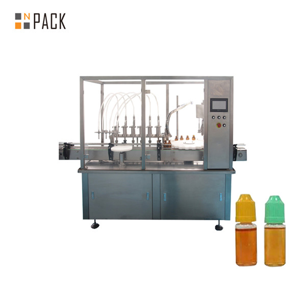 Peristaltic pump liquid filling machine for small vial bottle