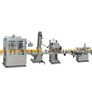 Full automatic flat bottle drum screw by pneumatic lubricant oil plastic bottle single head capping machine