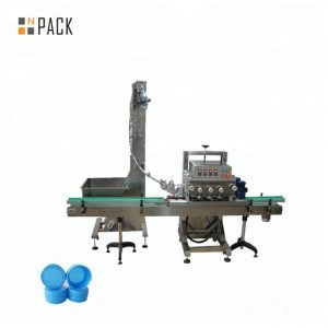 Automatic rotary capping machine for medical bottle