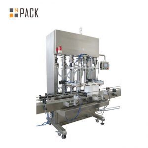 Liquid automatic filling machine for lubricant lube oil