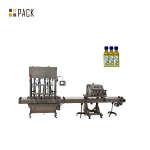Automatic 1-5L piston bottle jar lube engine oil liquid filling machine