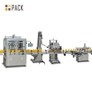Factory price high quality sunflower seeds oil filling line/oil filling machine