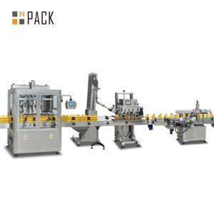 jam piston filling machine, automatic hot sauce filling machine, chili sauce production line