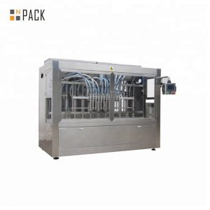 Battery acid bleach liquid soap filling machine