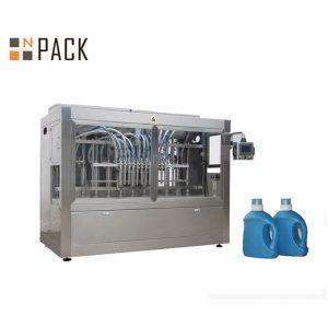 Automatic Liquid 10 nozzle mustard oil Bottle packing machine