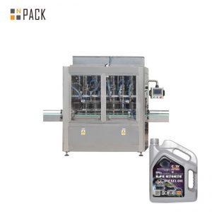 5-5000 ml Single Head Pneumatic Piston Honey Filler Paste Filling Machine For Liquid Bottle