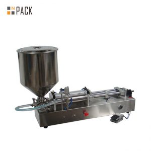 Very popular ice cream filling machine/double heads filling machine/nail polish filler machine