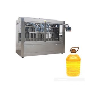 Full Automatic Mustard Palm Edible Oil Filling Packing Machine