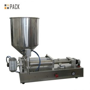 Costomic 2 Heads Semi Automatic Acids Liquid Filling Machine