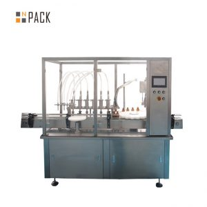 Essential Oil Filling Cap Screwing Equipment 10-100ml E liquid E juice Filling Capping Machine