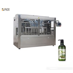 Complete automatic bottled hand bathing shampoo filling machine