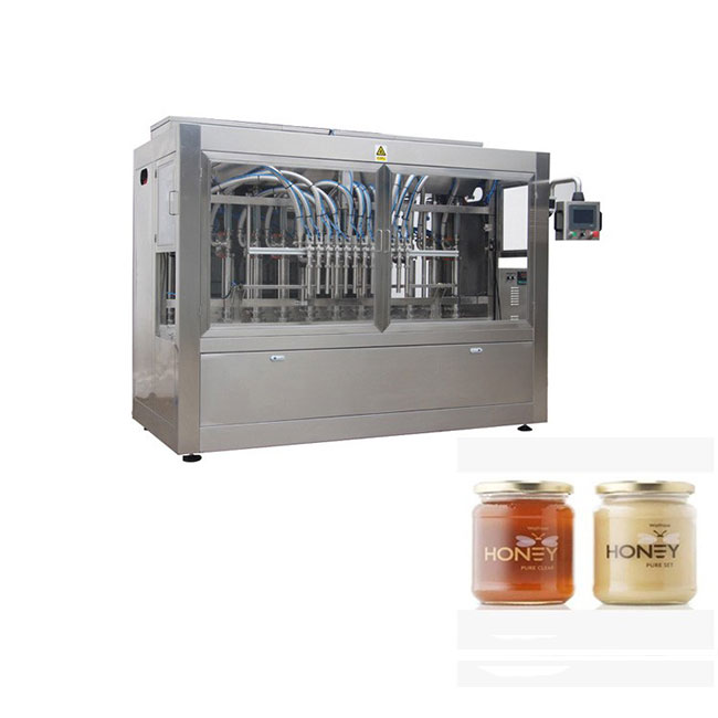 Cheap filling packing jar honey bottling machine