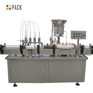 High quality chubby gorilla bottle filling machine e-liquid e liquid filling machine small drop filling machine