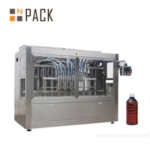 Automatic cooking oil filling machine sauce jam honey filling capping machine