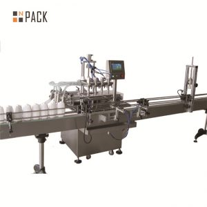 Soy sauce vinegar filling machine, vegetable oil filling machine, sauce machine