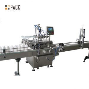 Automatic 5 liter pet bottle edible oil filling machine