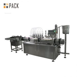Automatic Multi-heads Liquid & Cream Digital Filling Machine