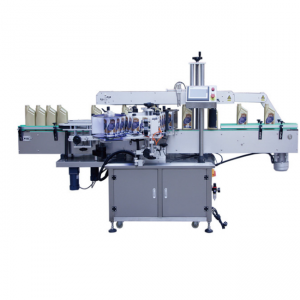 Hot Sale Auto Paper pasting Adhesive Label Bottle Labeling Machine
