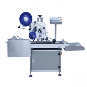 flat top side self adhesive labeling machine